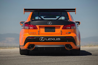 Lexus IS-F CCS-R Racer Ready for Pikes Peak 2012
