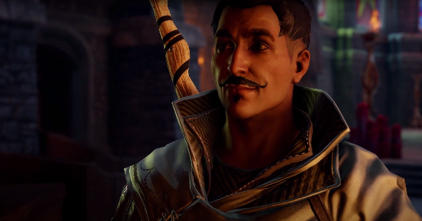Dorian, a Mage of Tevinter. Not a Magister. Get it right.