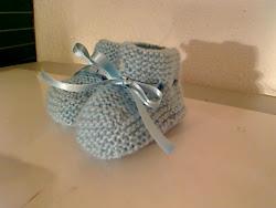 botinhas de bebé