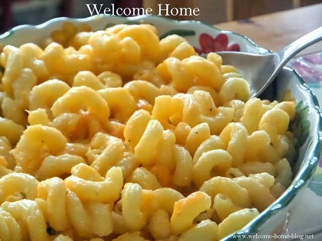 ... to make mac and cheese that is so cheesy and creamy so simple yet