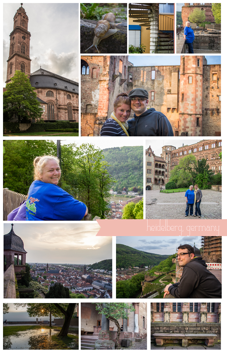 Day trips from Rheinland Pfalz: Heidelberg, Germany