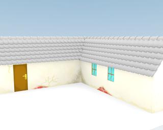WIP - texture layout belakang rumah