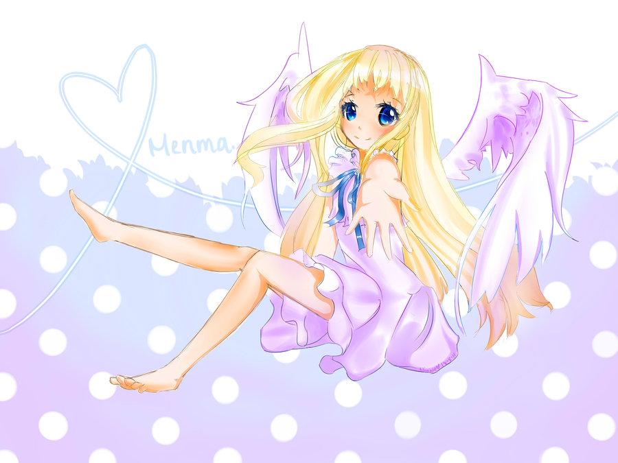 cute anime angel wallpaper - photo #6