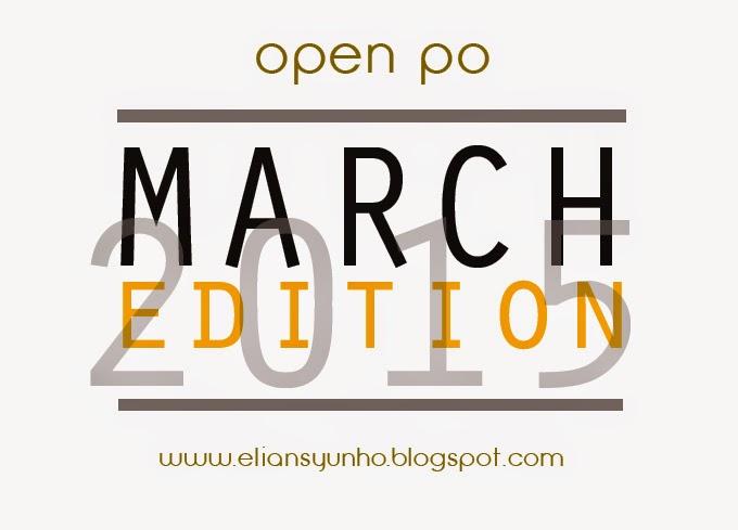 PRE ORDER - MARCH