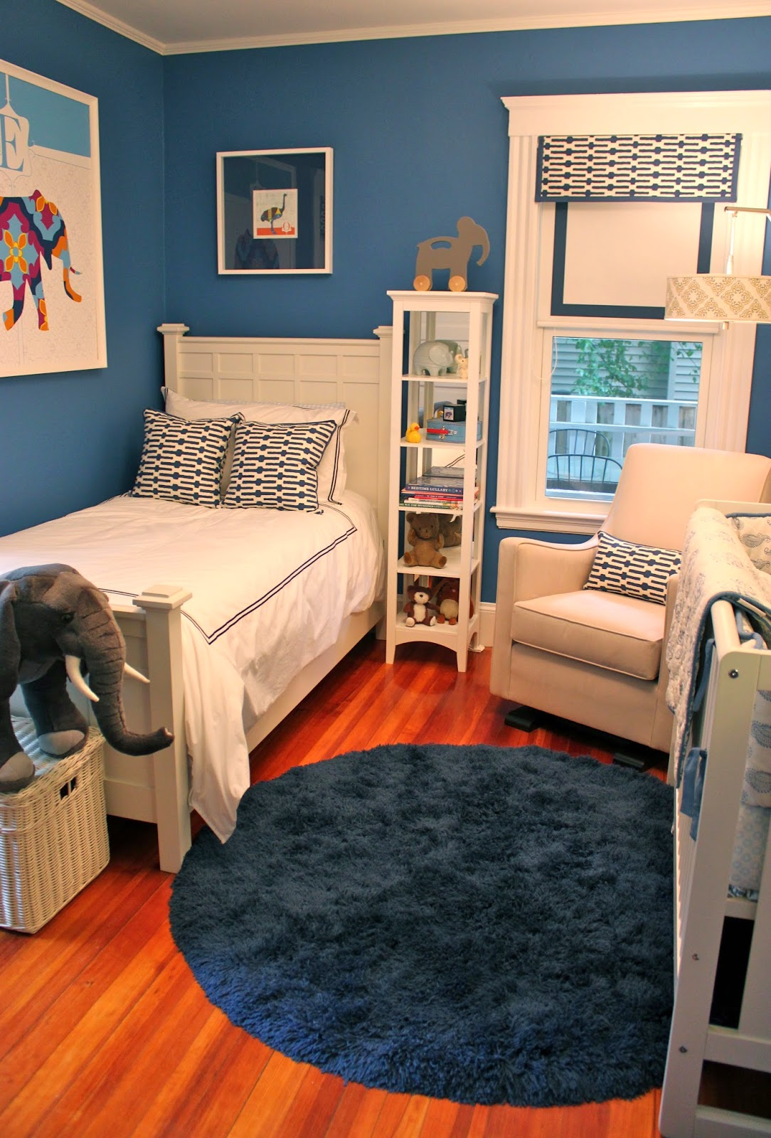 Use Some Bold Colors To Paint your son's Room