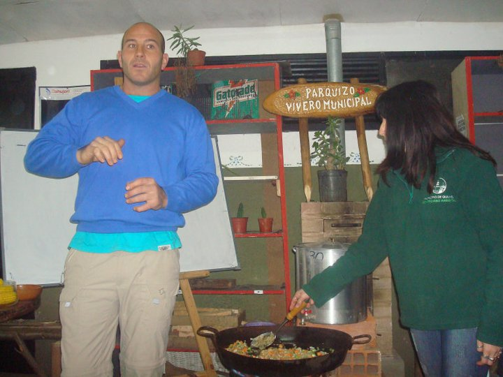 Quilmes digit l martiniano molina participo del curso de for Vivero municipal