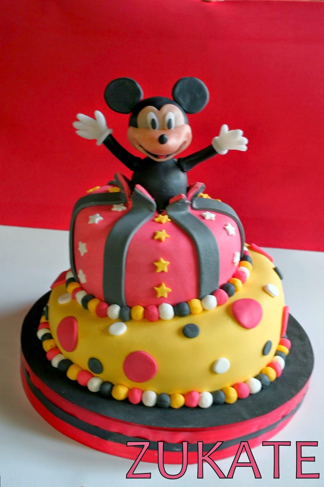 Tortas decoradas de mickey de fiesta infantil torta for Tortas decoradas infantiles