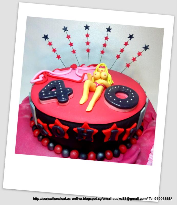 The Sensational Cakes Erotic Cake Singapore Bombshell Cake Sexy