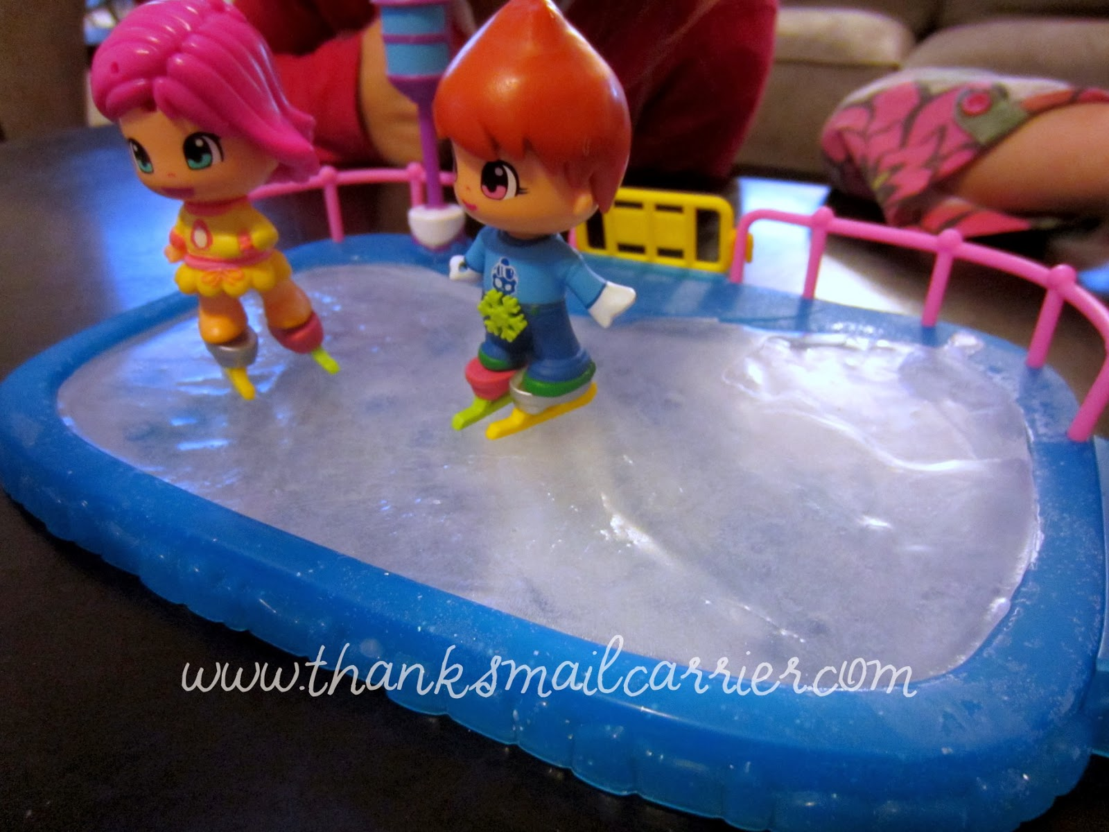 Pinypon ice skating rink
