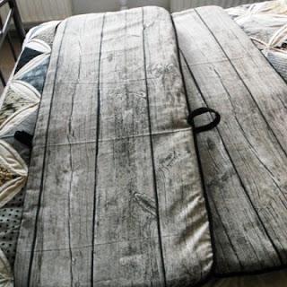 Stuhlauflage Holz