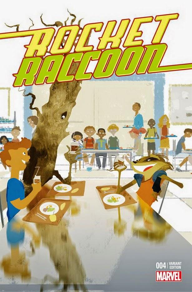 Portada Anti-bullying Rocket Raccoon 04