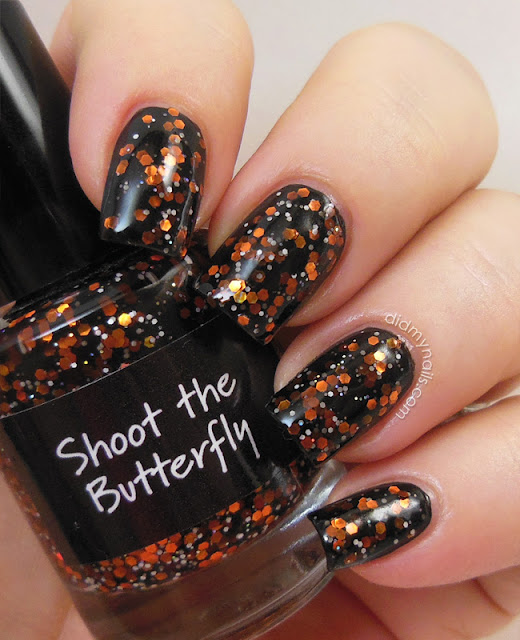 CrowsToes Shoot the Butterfly swatch