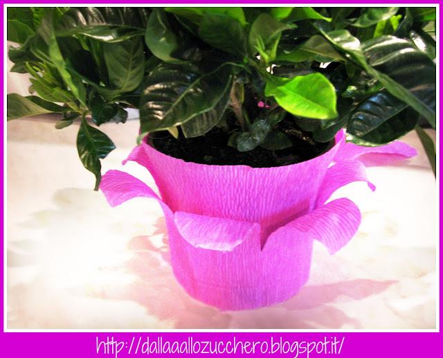 Dalla A allo Zucchero: Come ricoprire il vaso di una pianta