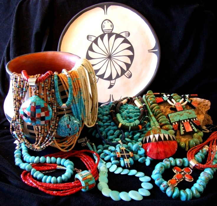 Beauty and the green southwestern style not just for for Indian arts and crafts