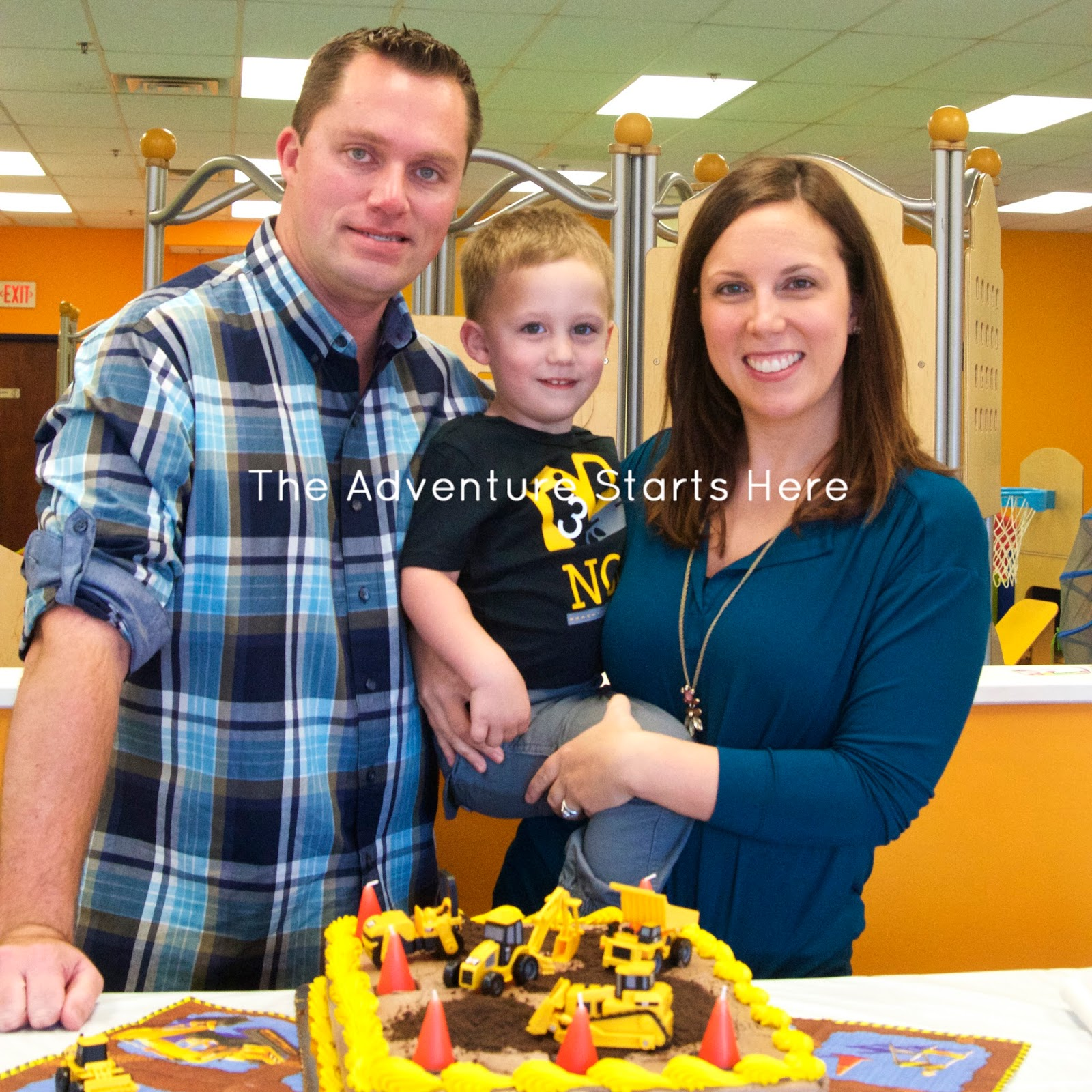 The Adventure Starts Here: Noah's 3rd Birthday Party