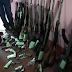 Policía de Estelí decomisa armas de fuego.