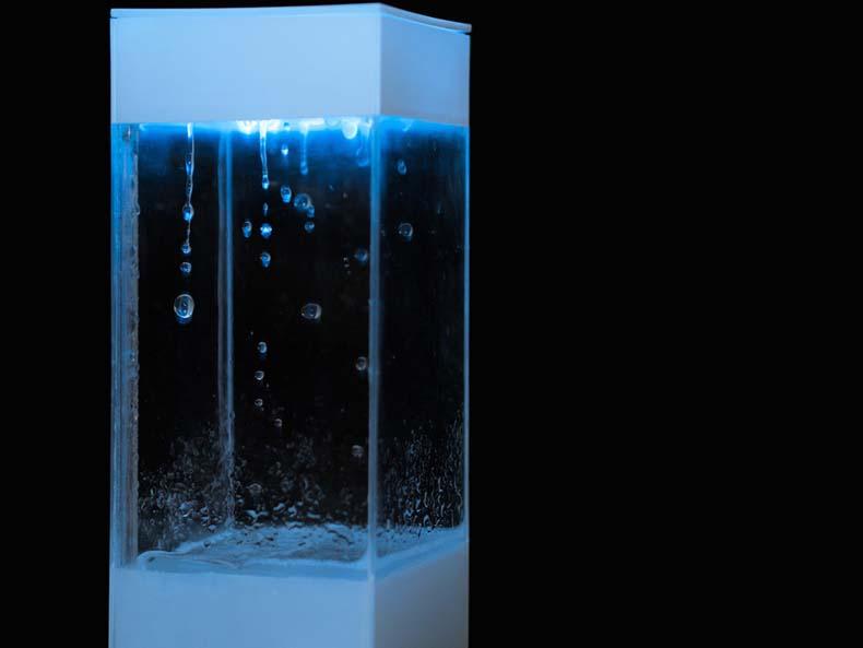 Tempescope, un dispositivo que simula el pronóstico del clima en tu escritorio