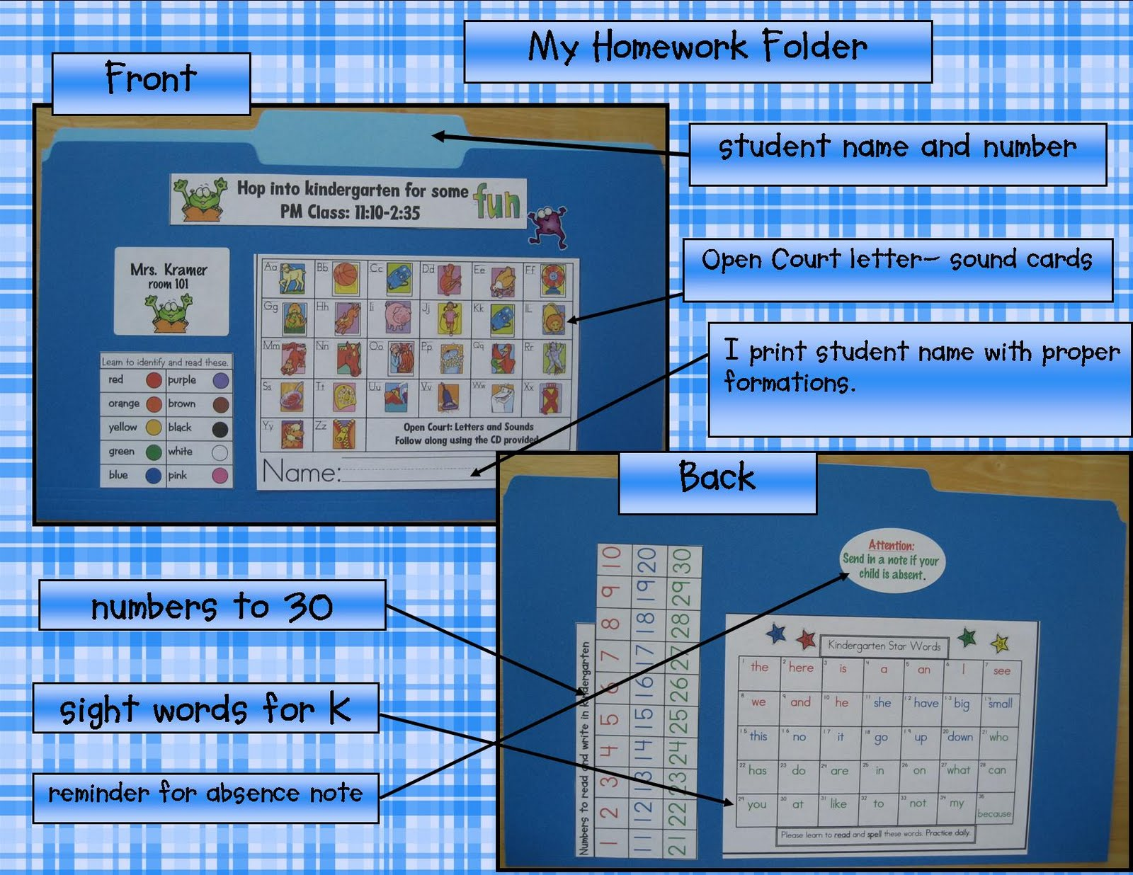 Kindergarten Crayons: I am obsessed with the ultimate hw folder...