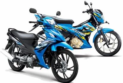 Rincian Harga Motor Suzuki Terbaru 2014