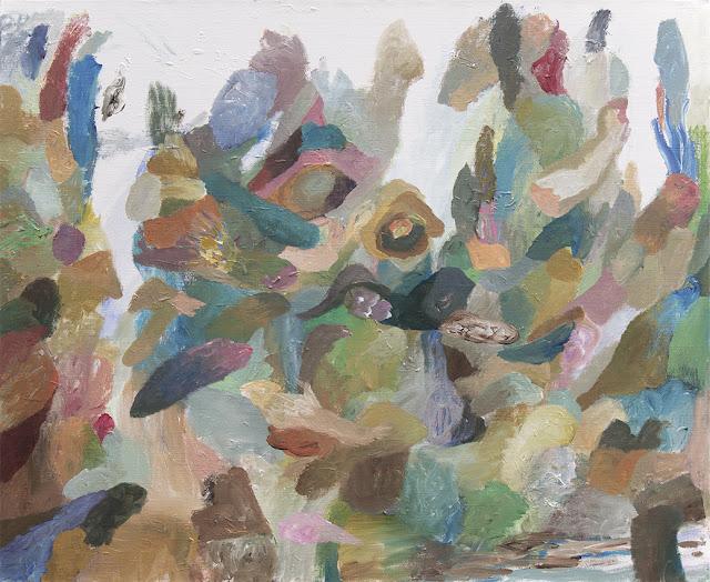 As Worlds Swam By - Painting by Niklas J Brandow