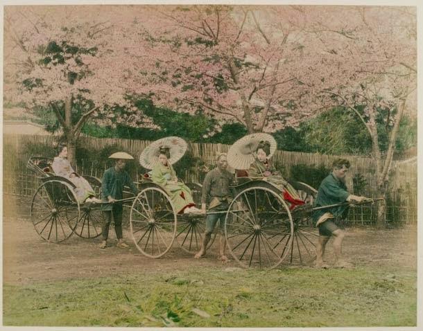 Las Geisha en el Japón de principios del siglo XX