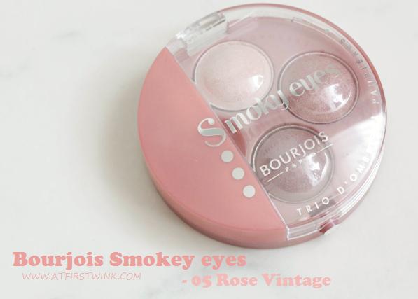Review: Bourjois Smokey eyes - 05 Rose Vintage