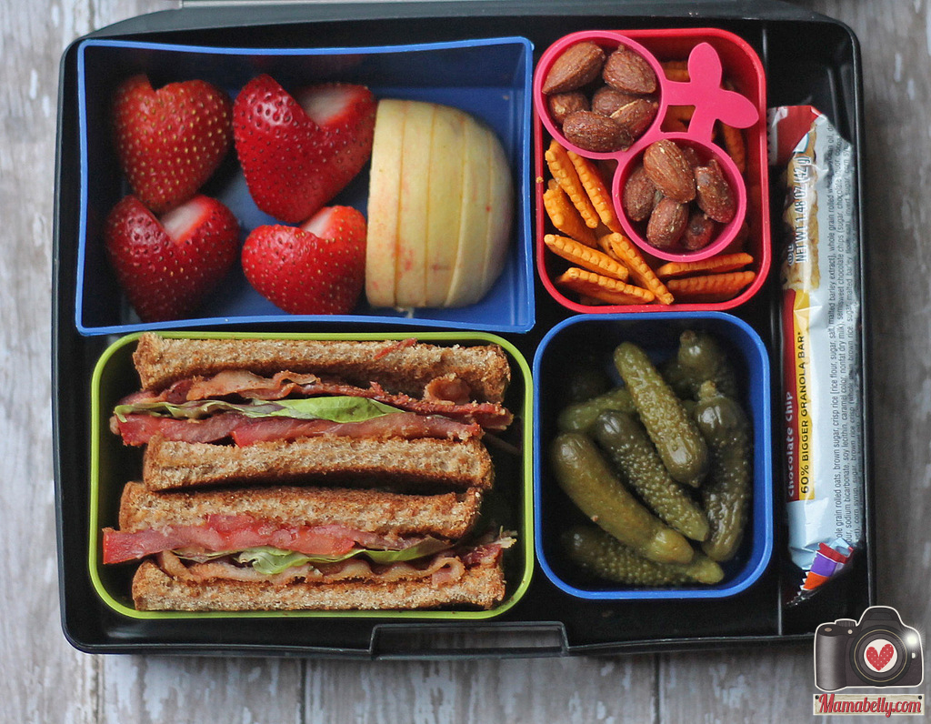 Mamabelly 39 s lunches with love blts 4 ways for School lunch ideas