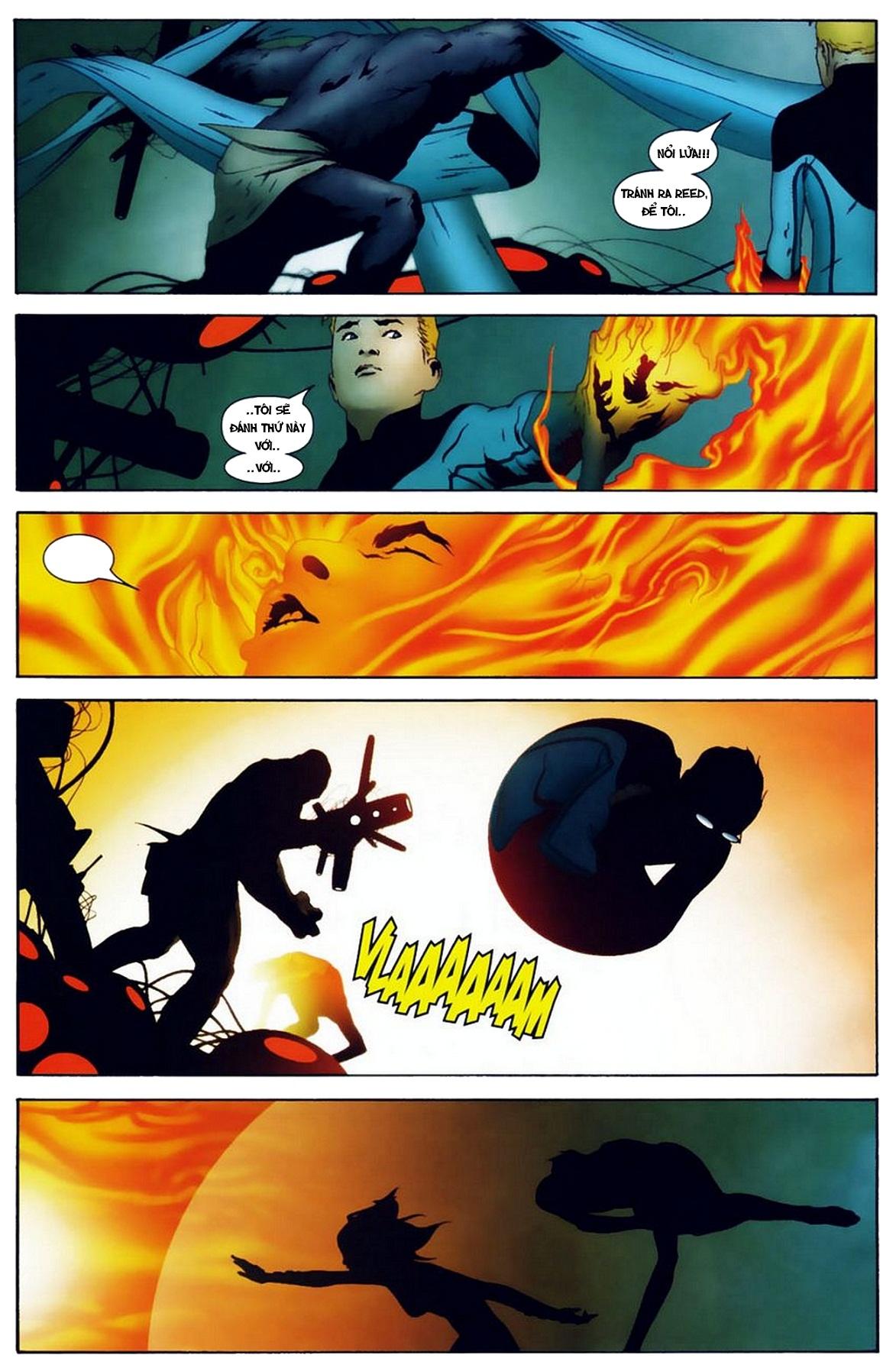 Ultimate Fantastic Four chap 19 - Trang 21