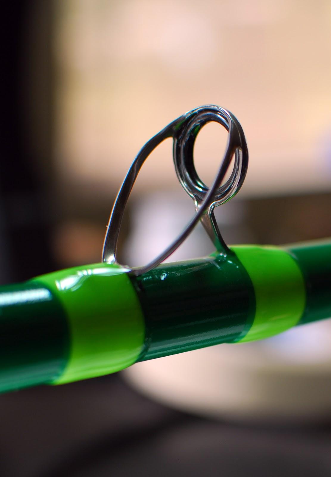 The green nitro heavy stiff for Nitro fishing rods