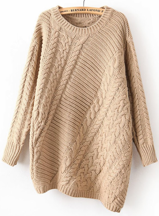 http://www.sheinside.com/Khaki-Long-Sleeve-Asymmetrical-Cable-Knit-Sweater-p-153735-cat-1734.html