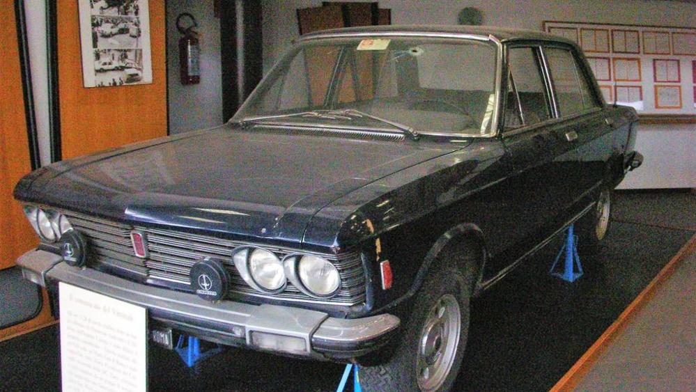 1978-2018 - La Fiat 130 simbolo della strage di via Fani è conservata intatta come 40 anni fa