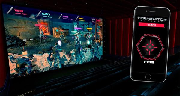 Videojuego para cines Audience Entertainment de Terminator: Génesis