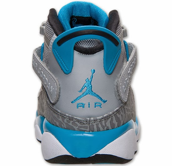 Jordan  Rings Wolf Grey Cool Grey Dark Powder Blue