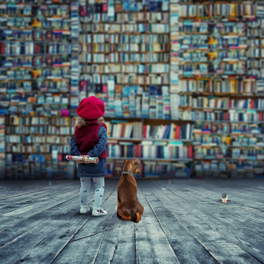 A world that used to be by Caras Ionut