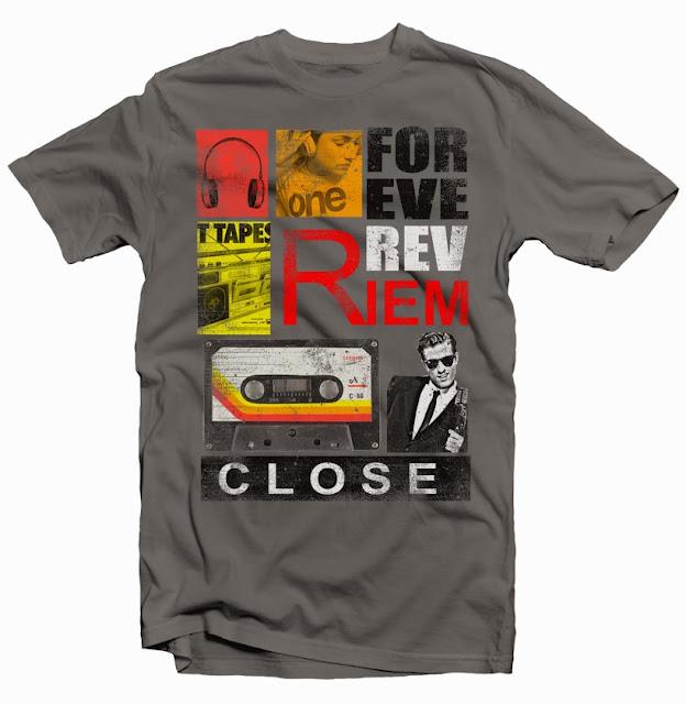 vintage casette design tshirt