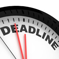 deadline clock graphic from Bobby Owsinski's Big Picture production blog