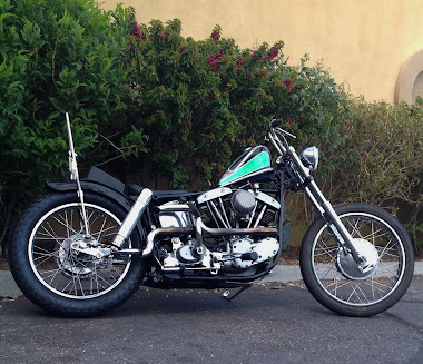 1968 SHovelhead swinger arm chopper love cycles