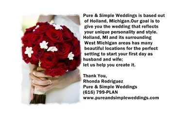 Pure &amp; Simply Weddings