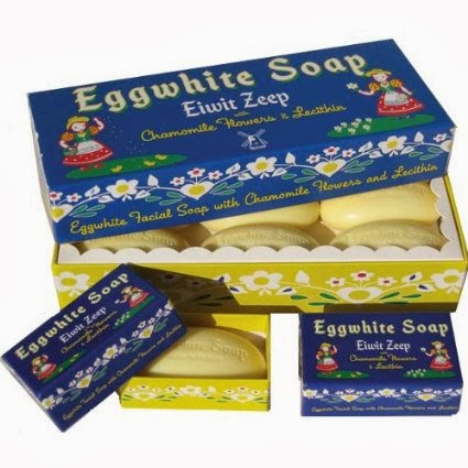 Swedish egg white facial soap