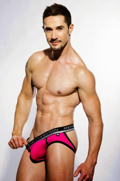 Seems Andrew christian underwear models male was specially