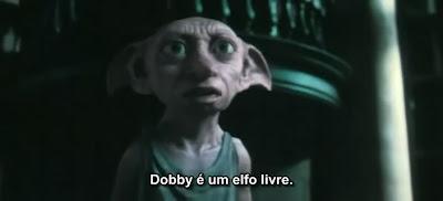 Assim como o Dobby, a sua opinião também é livre   Ordem da Fênix Brasileira