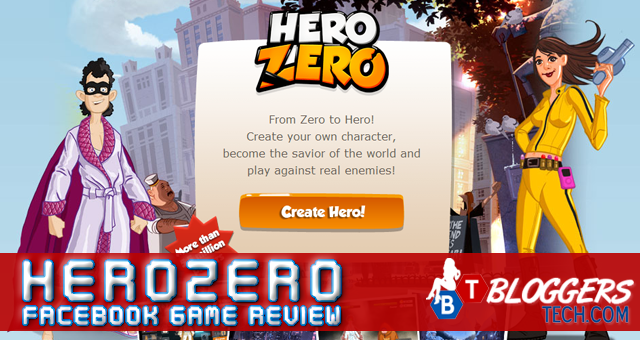 HeroZero Facebook Game