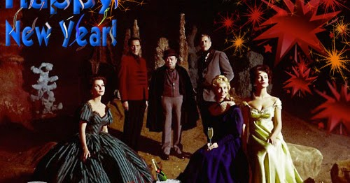 Vincent Price and friends wish you all a Happy New Year