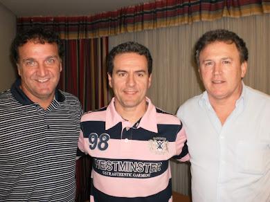 Técnicos Cuca e Edson Gaúcho