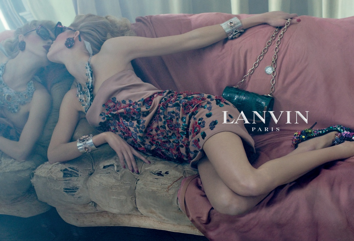 Lanvin Spring/Summer 2009 campaign (photography: Steven Meisel, model: Iselin Steiro) via www.fashionedbylove.co.uk british fashion blog