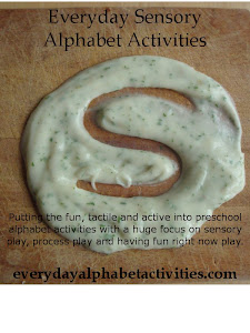 Everyday Sensory Alphabet Activities