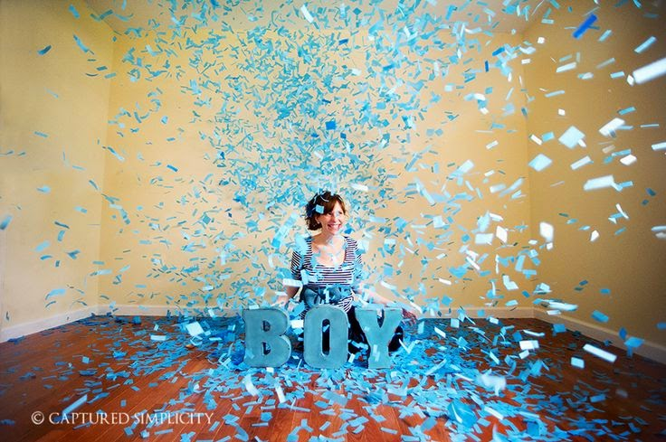 Domesticated Diva Baby Strongs PregnancyGender Announcement – Baby Gender Announcements