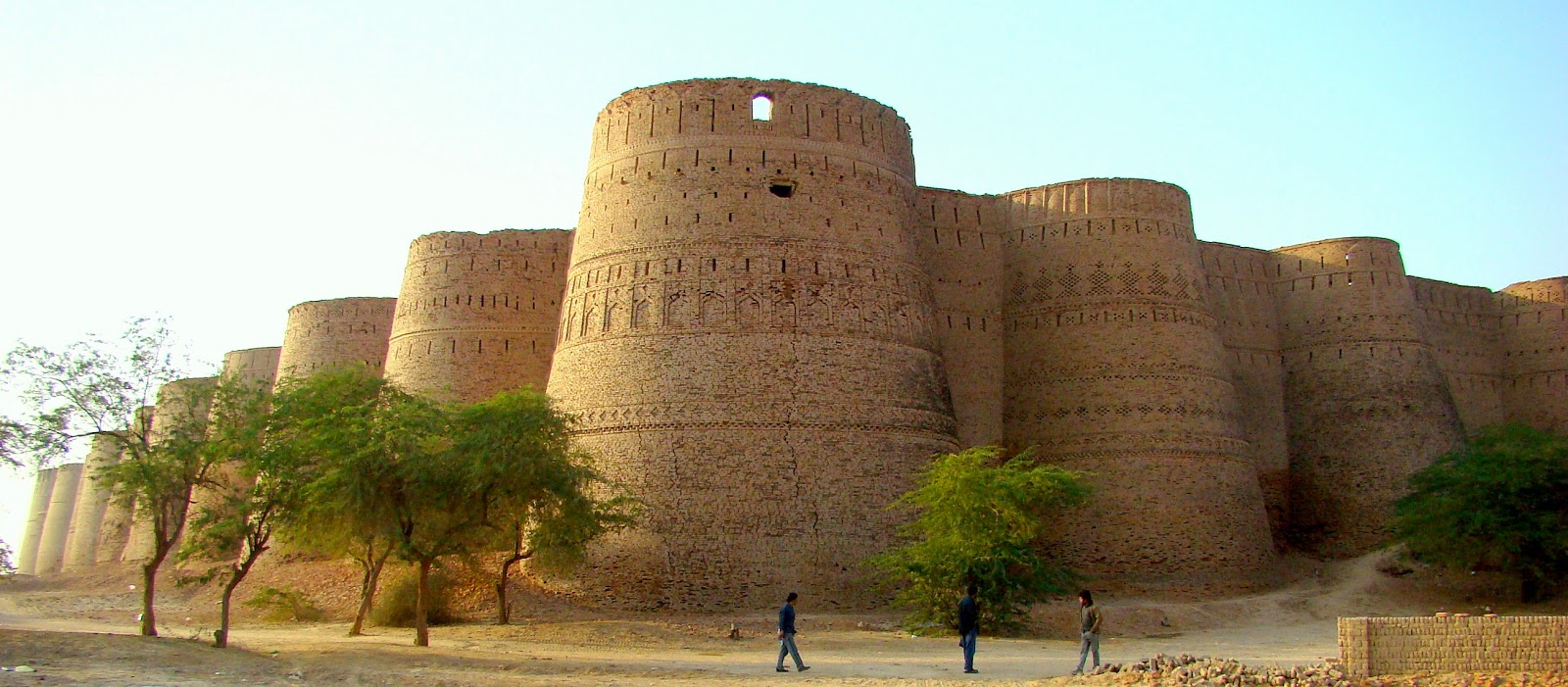 Derawar fort map