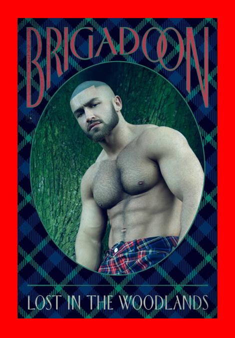 Francois Sagat in 'Brigadoon' Poster