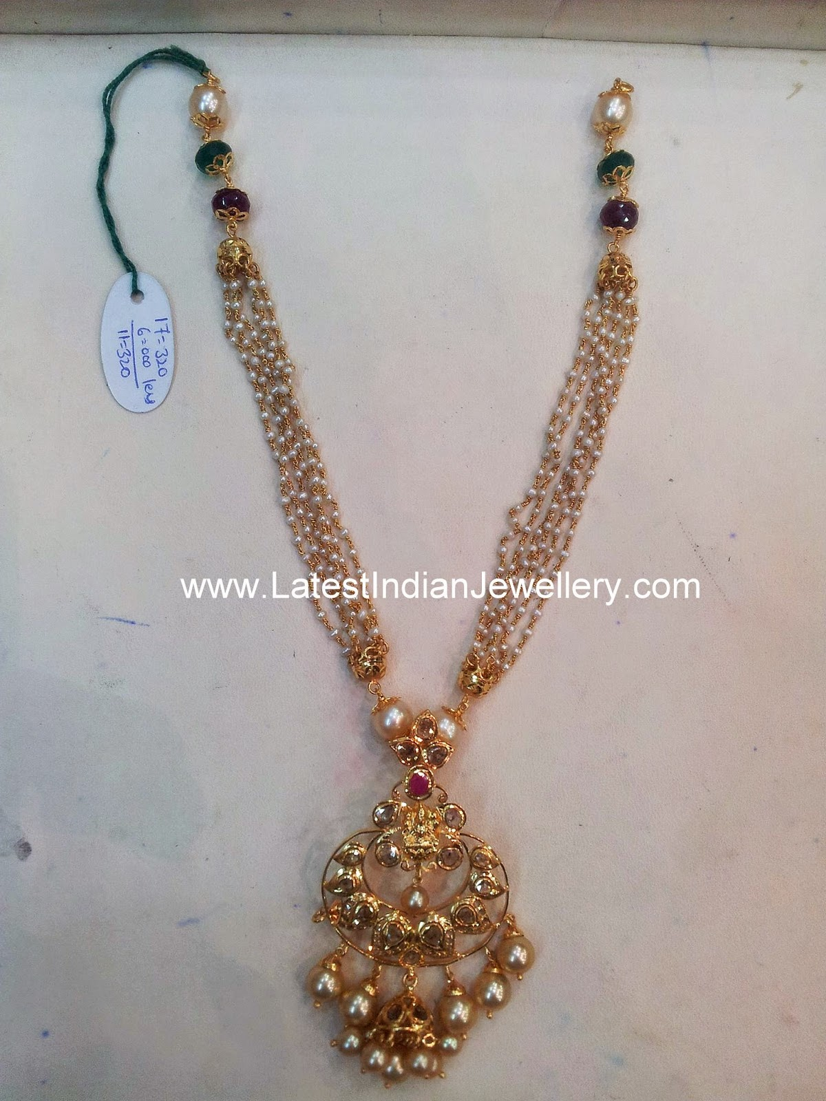 Bali design gold pendant